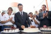 EPN pastel de cumpleaños