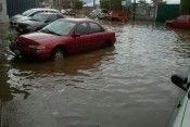 Lluvias inundación León