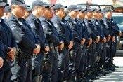 Policías de Morelos fila