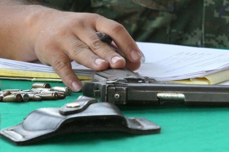 desarme voluntario programa