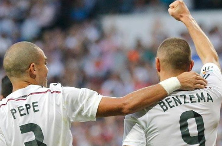 Benzema, pepe, real madrid