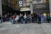Protesta oficinas PRD RA 6