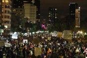 marcha ayotzinapa II, avenida juarez