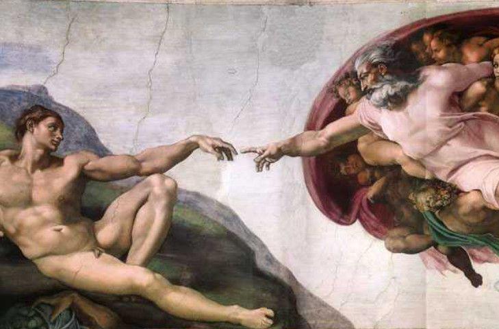 miguel angel, la creacion