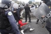 manifestantes detenidos, zaragoza, leo