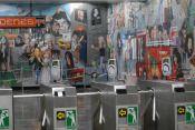 mural, rockeros, metro 4