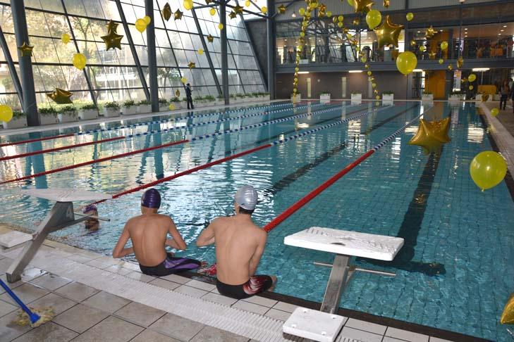 Presentan nueva imagen del centro deportivo venustiano for Gimnasio del centro