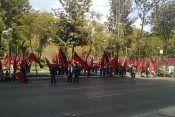 Protesta Avenida Juárez