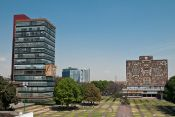 ciudad universitaria, campus, biblioteca central