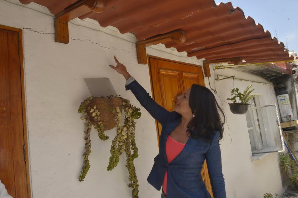 Denuncia Pizano defectos en construcción de casas que incumplen ...