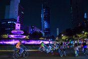 paseo nocturno bici GDF
