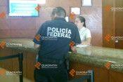 policia federal desalojado