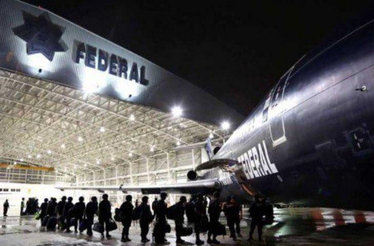 policia federal, instalaciones