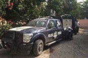 Tanhuato camioneta federal