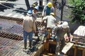 trabajadores de la construcción grande
