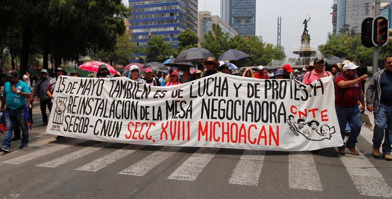 Resultado de imagen para marchas del 15 de mayo 2017