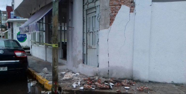 Huixtla, la ciudad con mayores daños tras sismo en Chiapas