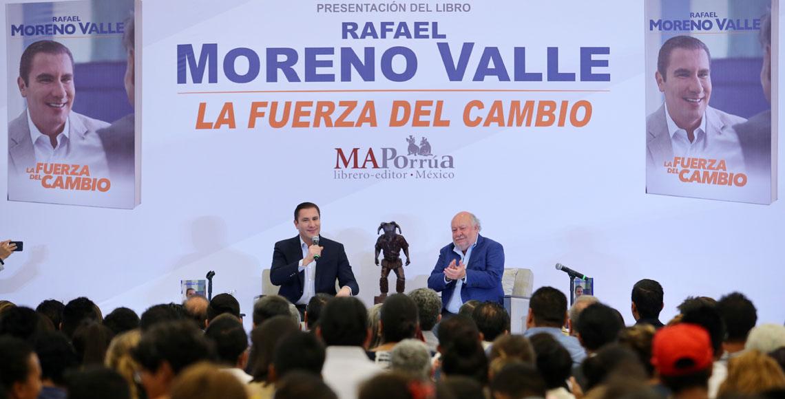 Moreno Valle propone frente opositor que incluya a Morena