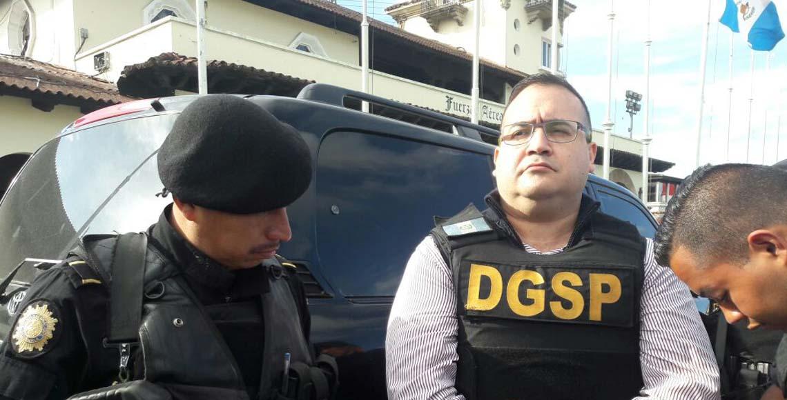 Javier Duarte a unas horas de su regreso a México - Quadratín CDMX