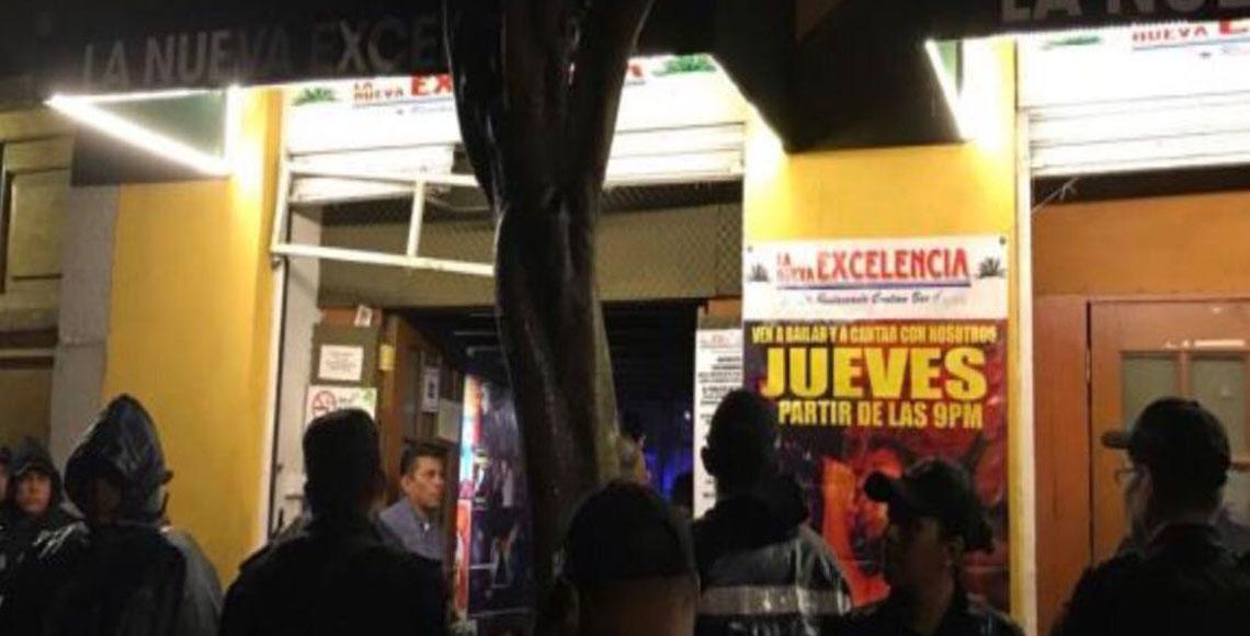 Clausuran seis bares durante operativo en el Centro
