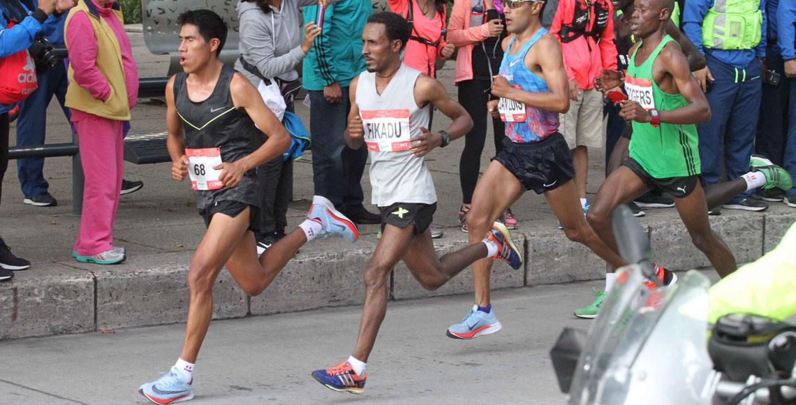 Gladys Tejeda ganó el Maratón de México y batió nuevo récord