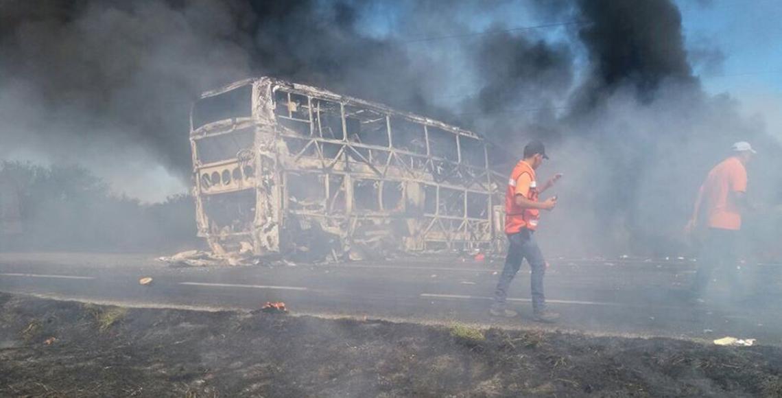 Choque en Tamaulipas suma a 17 lesionados