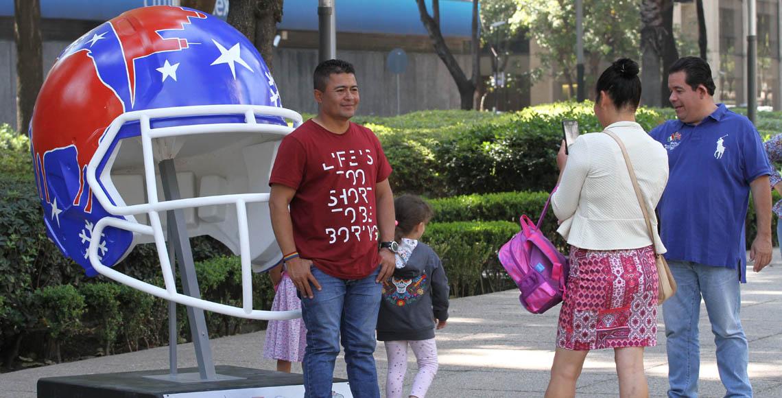 Raiders impartirán clínica de tochito en Fan Fest de la CdMx