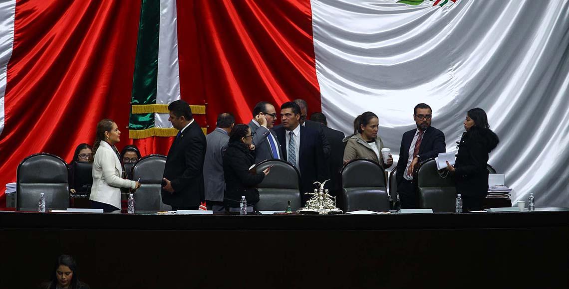 Oposición gana: posponen sesión en San Lázaro sobre consulta de mando único