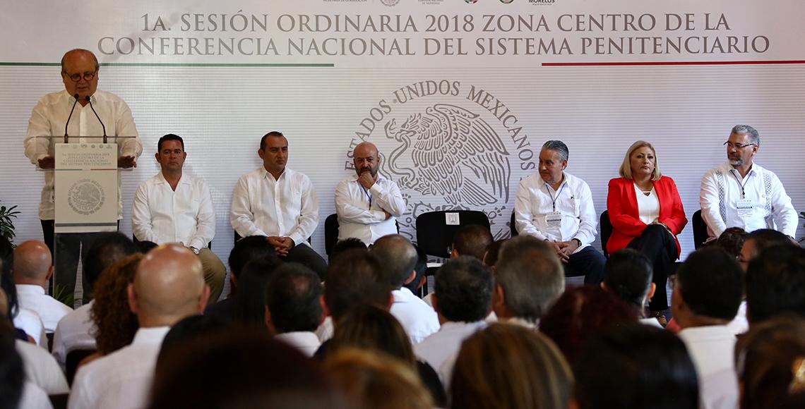Graco Ramírez coincide en crear políticas en materia de seguridad