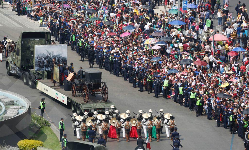 Disfrutaron 400 mil personas del Desfile Militar