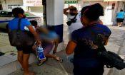 Muere enfermo de Covid 19 afuera de farmacia en Zihuatanejo
