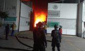 Incendio deja sin electricidad a 31 mil usuarios en Benito Juárez
